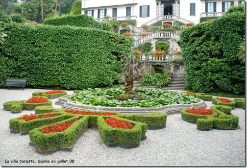 Le jardin c 39 est tout la villa carlotta for Decoration jardin villa