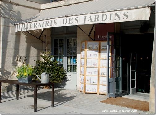 le librairie des jardins