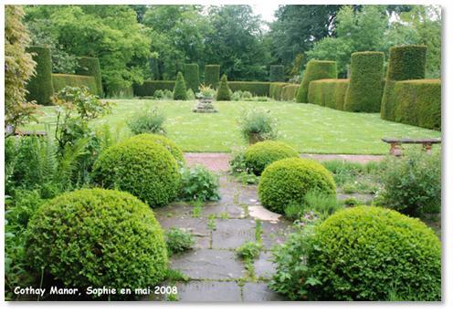 Le jardin c 39 est tout le formel dans les jardins anglais for Jardin en anglais