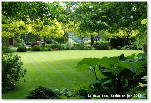 Le jardin c 39 est tout land art au sous bois for Cordeau de jardin