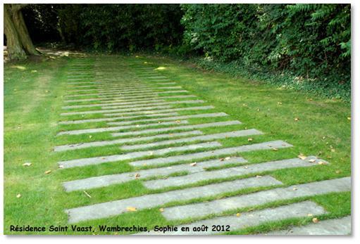 Le jardin, c\'est tout !: Un chemin suggéré.