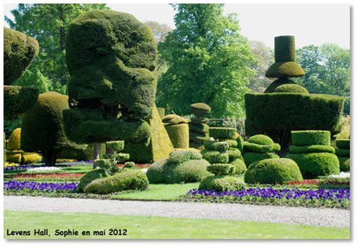 Le jardin c 39 est tout quelques lichens - Jardin topiaire ...