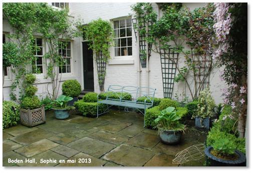 Le jardin c 39 est tout une si jolie terrasse - Terrasse en terre cuite ...