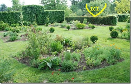 le jardin jaune